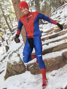 Rocking my Spiderman Suit during the BBMM, photo courtesy of Robert Timko.