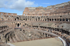 Roman Coliseum, 2000 year old marvel.