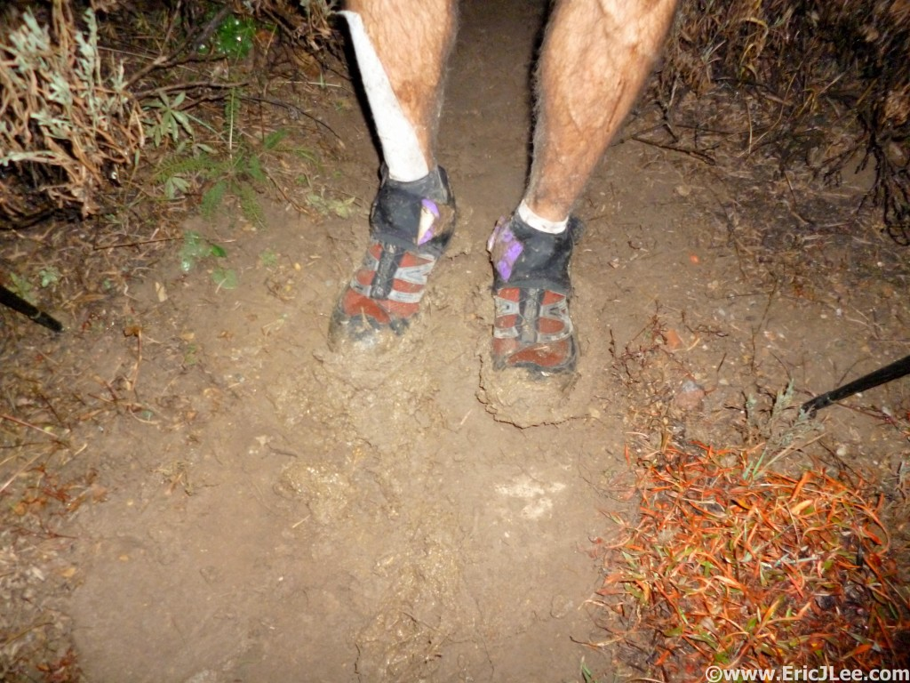 Then we realized that rain meant mud, sticky, slippery mud....mm56.