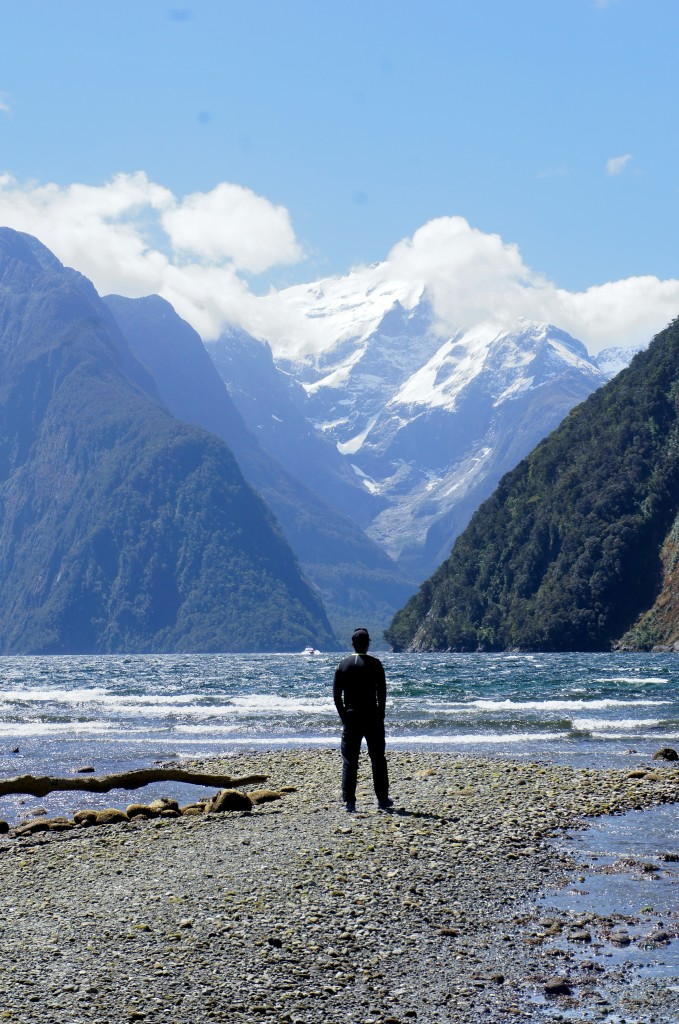 What you'll find yourself doing a lot, staring at the Awesomeness that is New Zealand.