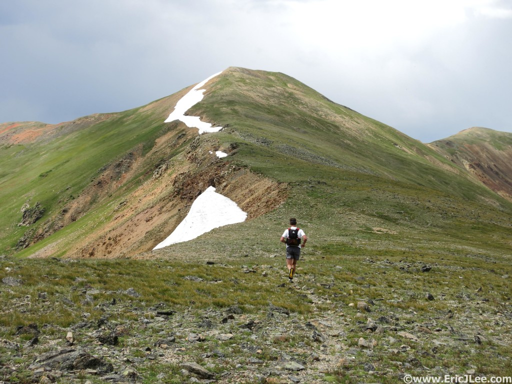 High altitude ridge running near Guanella Pass.