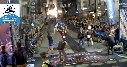 Alister and I crossing the finish line at the 2015 UTMB. 86th overall in 29:37:38 I'll upload a better photo once I get one.