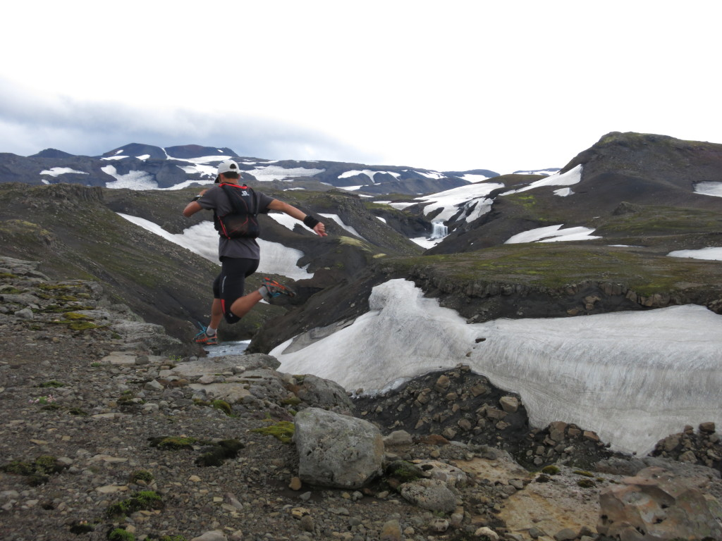 I've never been good at tapering. Pre-race play time in Iceland, 8/21/15.