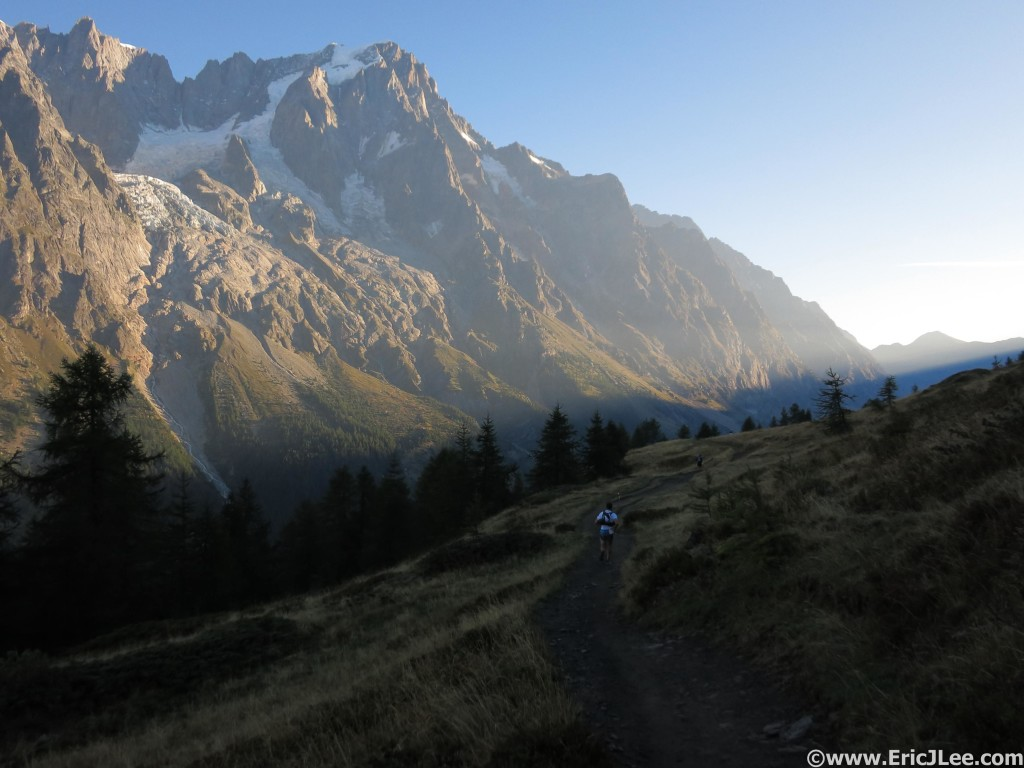 Early morning light near Rifugio Bertone, why I love this section.