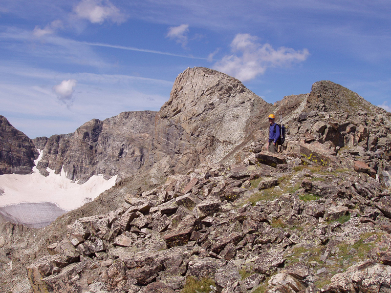 My first adventure as a Colorado resident back in August 2006 with Wes, Elk Tooth and Ogalala Peaks.