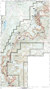 Trans Bryce Canyon map.
