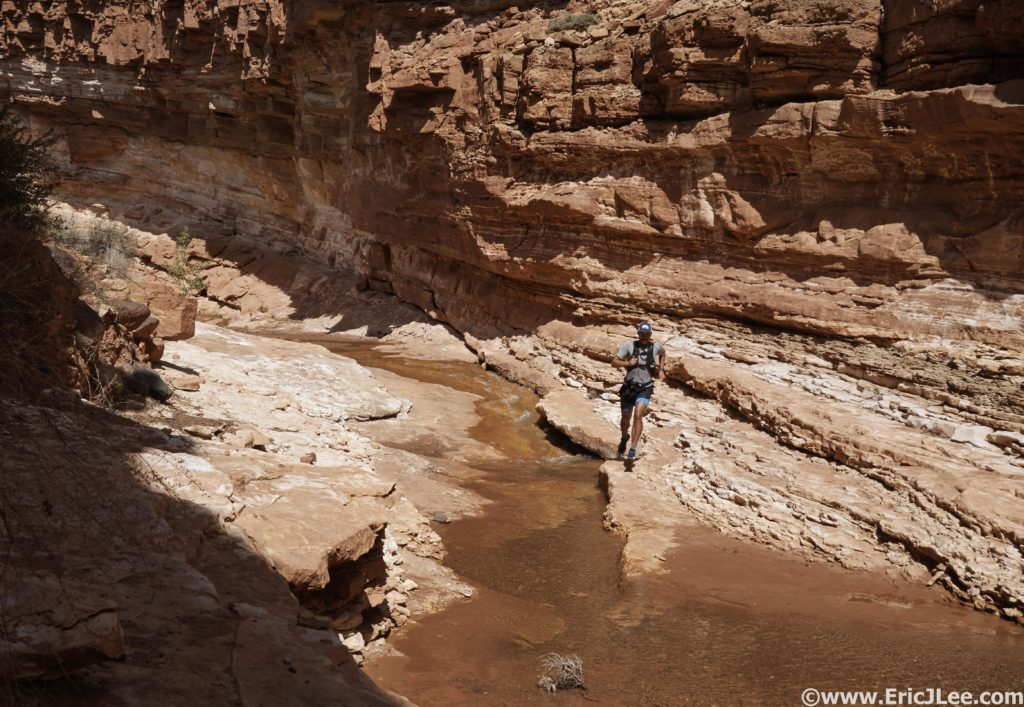 Sulphur Creek, Capitol Reef NP. Scouting another NP route.